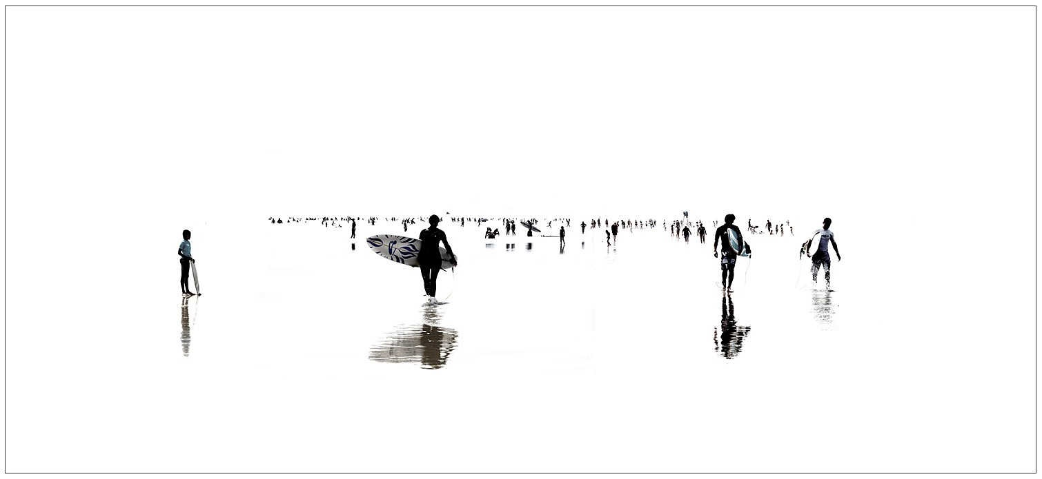 Marc Harrold, Beach 33 Diasec mounted C-print