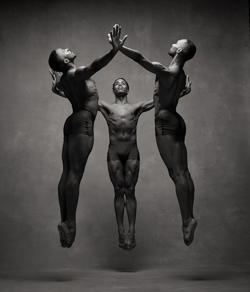 Ken Browar & Deborah Ory, Alvin Ailey Dancers Dye sublimation print on aluminum