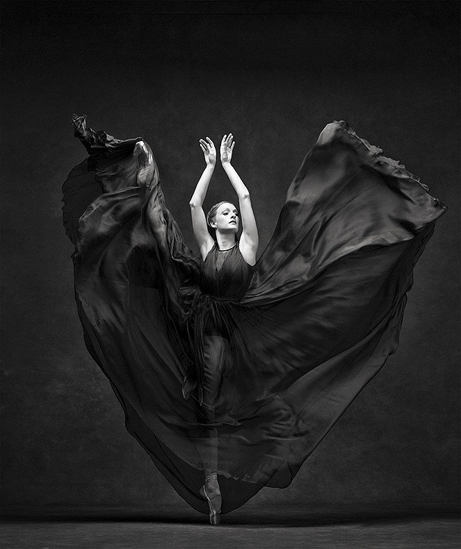 Ken Browar & Deborah Ory, Gillian Murphy - 99 Dye sublimation print on aluminum