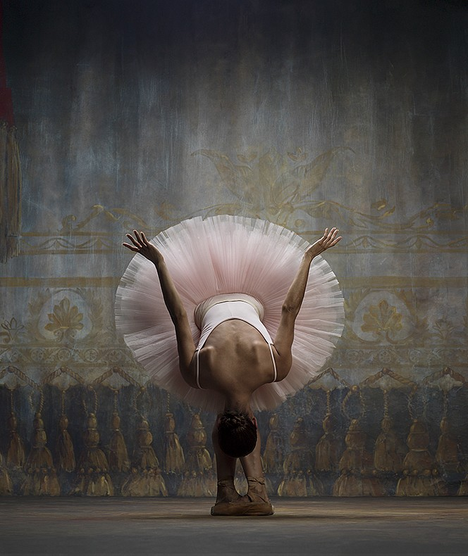 Ken Browar & Deborah Ory, Misty Copeland (Bowing) Dye sublimation print on aluminum
