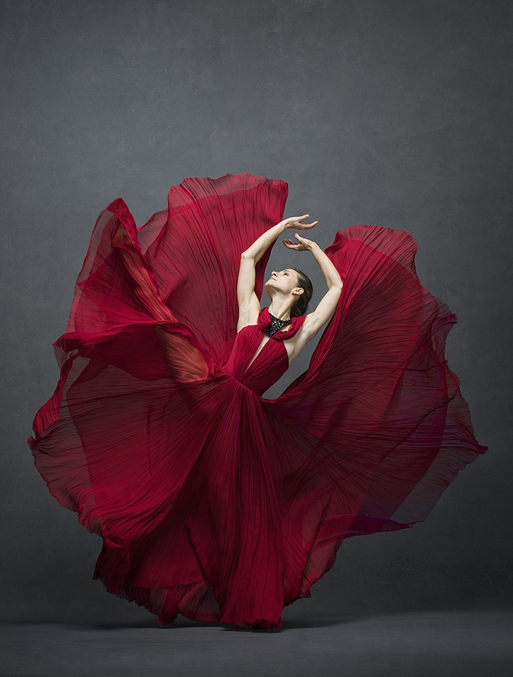 Ken Browar & Deborah Ory, Masha Dashkina Maddux (red) Dye sublimation print on aluminum