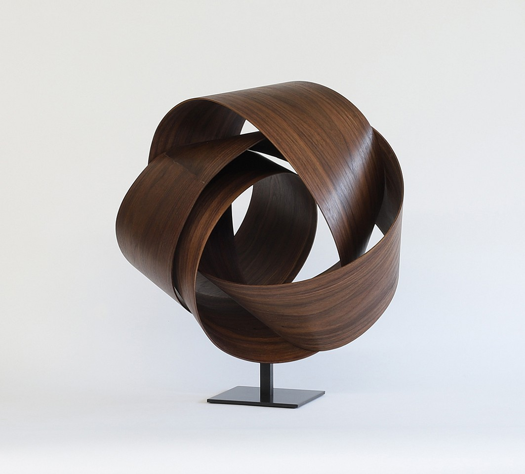 Jeremy Holmes, Walnut 5 Black Walnut on metal base