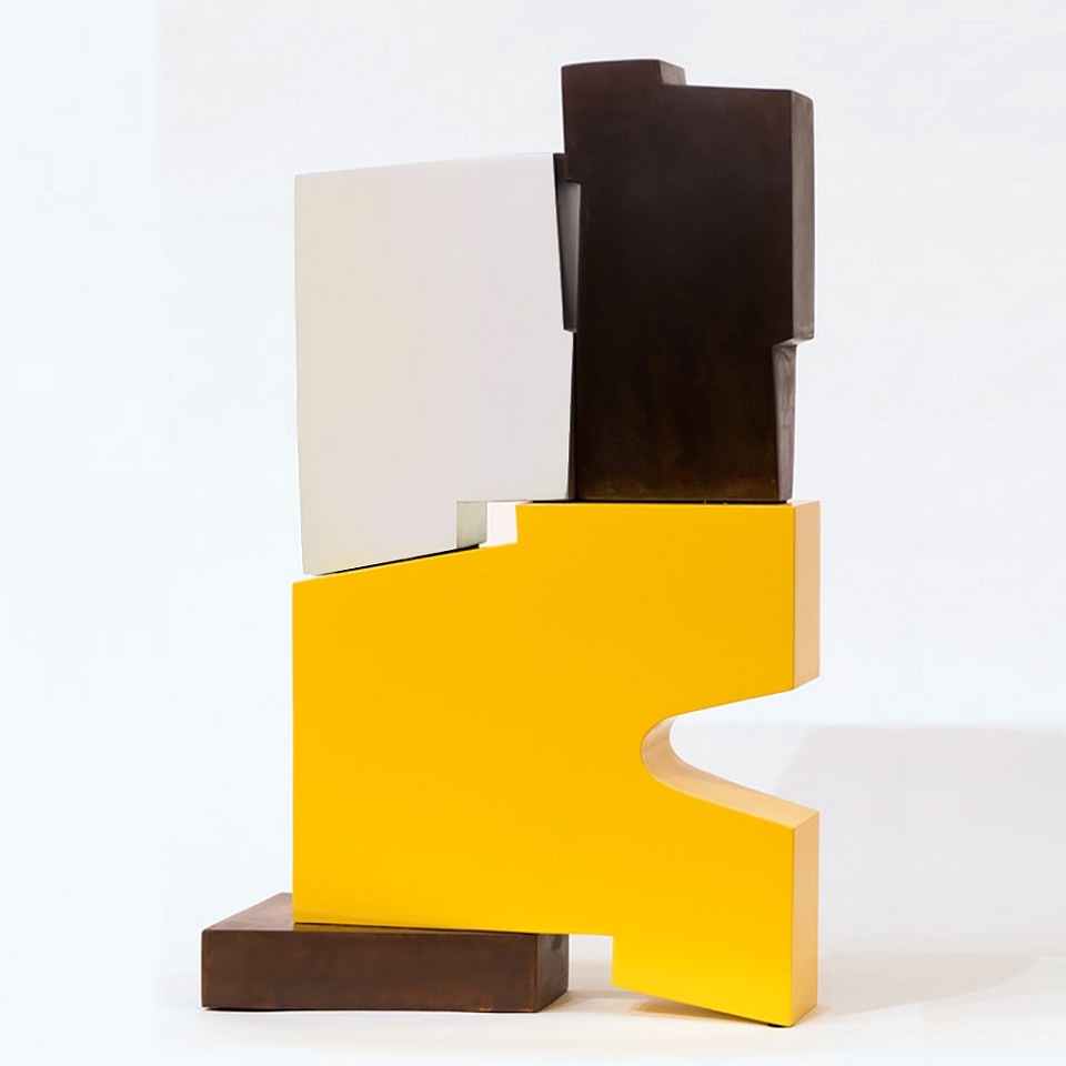 Pascal Pierme ,   Petite Tatoum      Painted Steel ,  21 x 13 x 6 in.