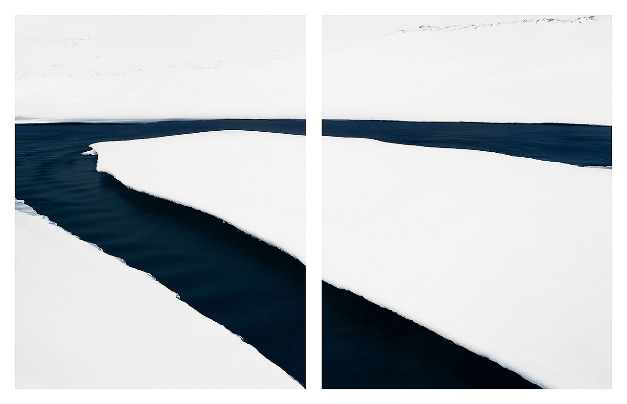 Jonathan Smith, Stream #7 (diptych) Chromogenic print