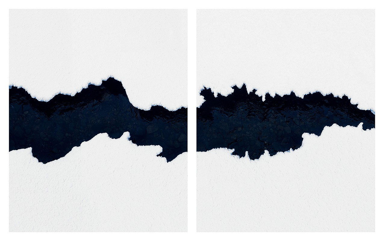 Jonathan Smith, Untitled #38 (diptych) Chromogenic print