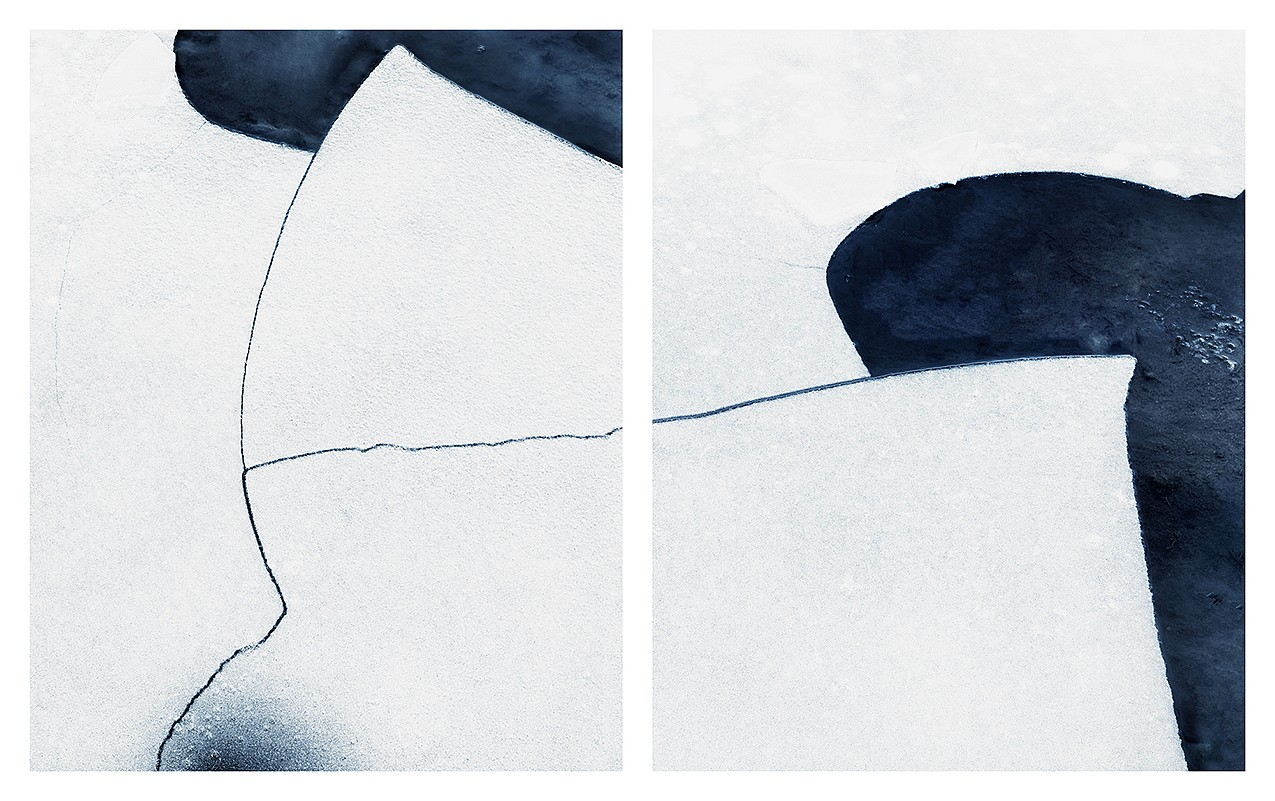 Jonathan Smith, Untitled #2 (diptych) Chromogenic print